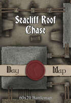 60x20 Battlemap - Seacliff Roof Chase