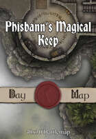 40x30 Battlemap - Phisbann's Magical Keep