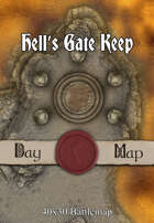 40x30 Battlemap - Hell's Gate Keep