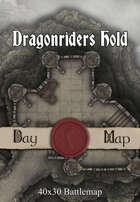 40x30 Battlemap - Dragonriders Hold
