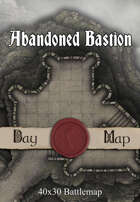 40x30 Battlemap - Abandoned Bastion