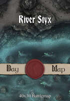 40x30 Battlemap - River Styx