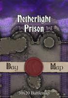 30x20 Battlemap - Netherlight Prison