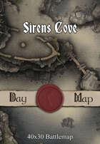 40x30 Battlemap - Sirens Cove