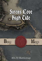 40x30 Battlemap - Sirens Cove High Tide