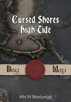 40x30 Battlemap - Cursed Shores High Tide