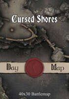 40x30 Battlemap - Cursed Shores