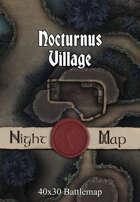 40x30 Battlemap - Nocturnus Village