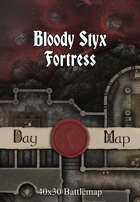 40x30 Battlemap - Bloody Styx Fortress