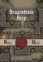 40x30 Battlemap - Dragonblade Keep