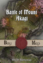 40x30 Battlemap - Battle of Mount Akagi
