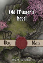 40x30 Battlemap - Old Master's Hovel