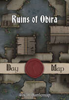 40x30 Battlemap - Ruins of Obira