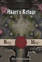 40x30 Battlemap - Akari's Refuge