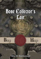 40x30 Battlemap - Bone Collector's Lair