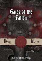 40x30 Battlemap - Gates of the Fallen