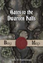 40x30 Battlemap - Gates to the Dwarven Halls