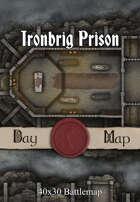 40x30 Battlemap - Ironbrig Prison