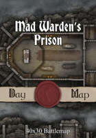 40x30 Battlemap - Mad Warden's Prison