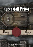 40x30 Battlemap - Ravensfall Prison