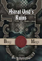 40x30 Battlemap - Astral Void's Ruins