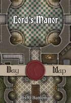 40x30 Battlemap - Lord's Manor