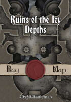 40x30 Battlemap - Ruins of the Icy Depths