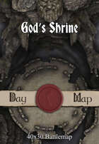 40x30 Battlemap - God's Shrine