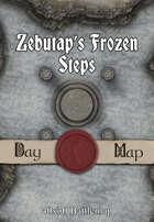 40x30 Battlemap - Zebutap's Frozen Steps