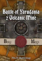 30x20 Battlemap - Battle of Yarudania 2 Volcanic Mine