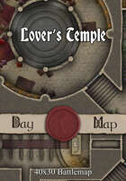 40x30 Battlemap - Lover's Temple