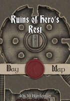 40x30 Battlemap - Ruins of Hero's Rest
