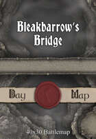 40x30 Battlemap - Bleakbarrow's Bridge