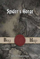 40x30 Battlemap - Spider's Gorge
