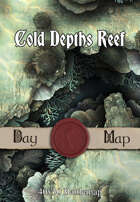 40x30 Battlemap - Cold Depths Reef