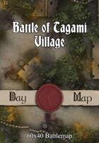 60x40 Battlemap - Battle of Tagami Village