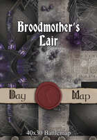 40x30 Battlemap - Broodmother's Lair