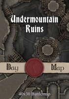 40x30 Battlemap - Undermountain Ruins