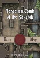 40x30 Battlemap - Forgotten Tomb of the Rakshik