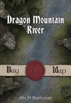 40x30 Battlemap - Dragon Mountain River