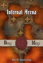 40x30 Battlemap - Infernal Arena