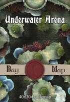 40x30 Battlemap - Underwater Arena