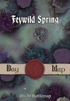 40x30 Battlemap - Feywild Spring