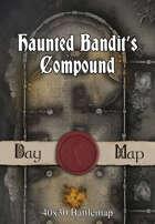 40x30 Battlemap - Haunted Bandit's Compound