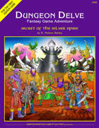 Secret of the Silver Spire (DUNGEON DELVE #4)