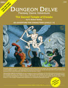 The Sacred Temple of Erwadu (DUNGEON DELVE SPECIAL#1)