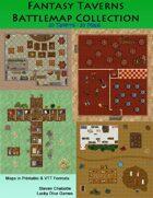 Fantasy Taverns Battlemap Collection