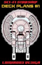 Sci-fi Starship Deck Plans #1