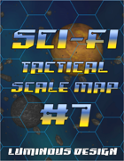 Sci-fi Tactical Scale Map #7