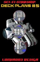 Sci-fi Starship Deck Plans #5